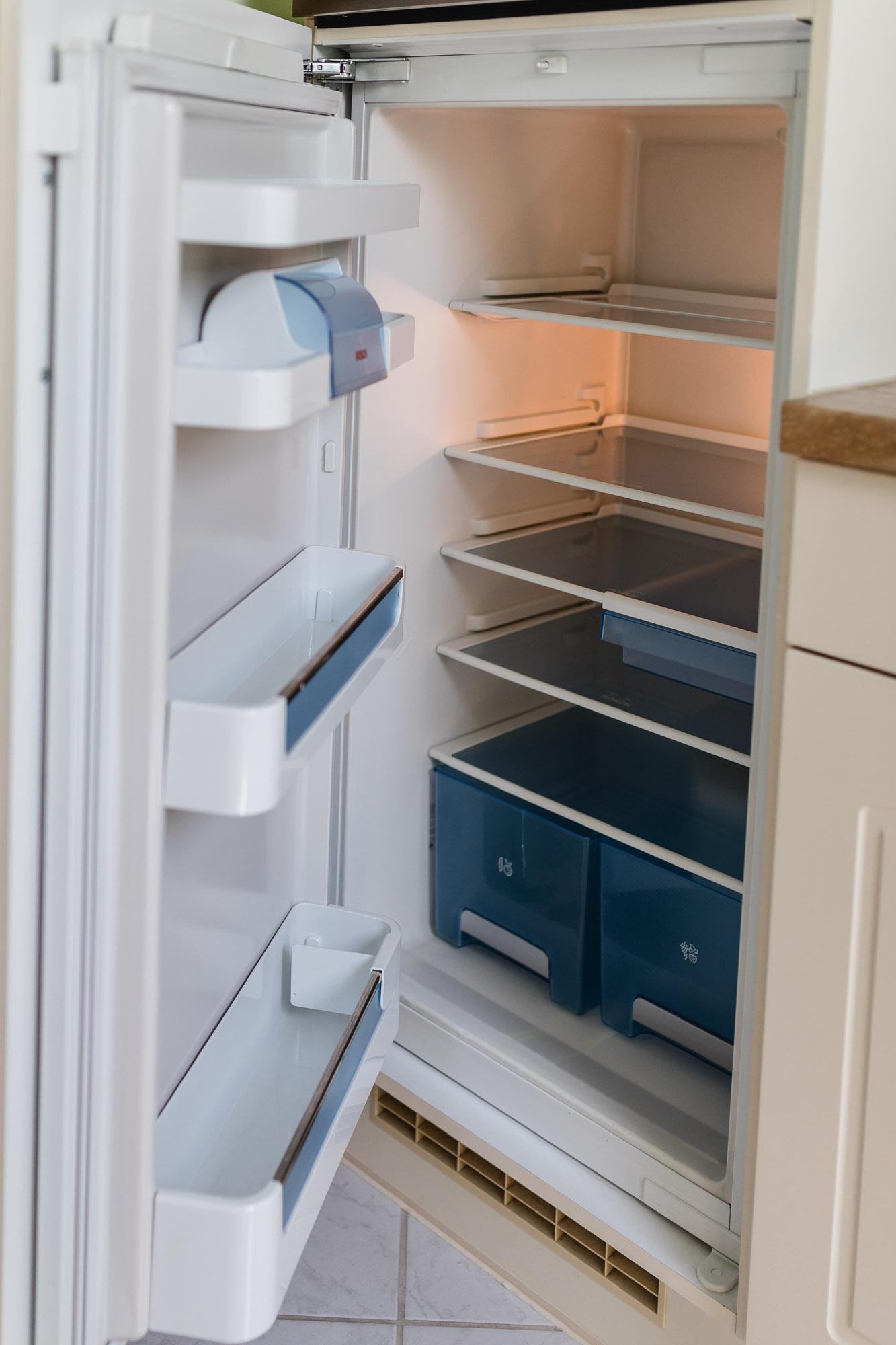Ferienwohnung Hetzdorf Kühlschrank